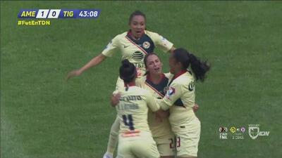 ¡Gooolazo de América! Diana González abre el marcador ante Tigres