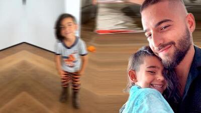 """El pequeño primo de Maluma, heredó """"el flow"""" del cantante vistiendo """"pijama y con botas texanas"""""""