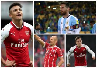Alexis, Ozil, Robben y más cracks que podrían ser agentes libres desde enero de 2018