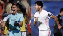 Jugadores del Real Madrid salen en defensa de futbolista del equipo femenil