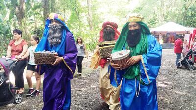 Bosque San Patricio recibe a los Tres Reyes Magos