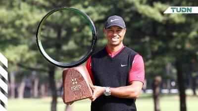 Tiger Woods empató récord de 82 victorias