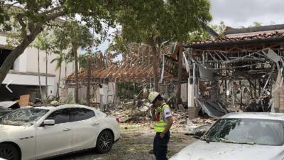 'Pizza Fire': el lugar en donde ocurrió la explosión que dejó 23 heridos en Plantation