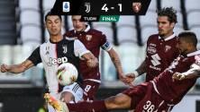 Cristiano Ronaldo y la Juventus se quedan con el Derbi de Turín