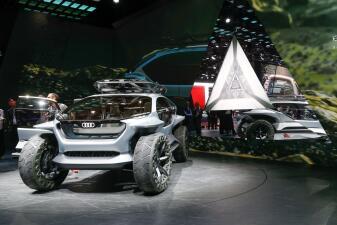 Carros futuristas y electrificados, lo más destacado del Auto Show de Frankfurt 2019