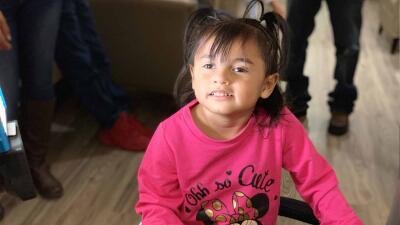 La niña hispana que le pronosticaron poco tiempo de vida y ha logrado sobrevivir a una extraña enfermedad degenerativa