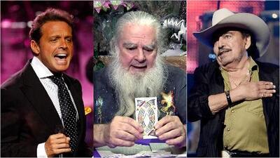 Nos quedamos fríos con las estremecedoras predicciones que hizo el Brujo Mayor sobre Juan Gabriel, Luis Miguel y Joan Sebastian