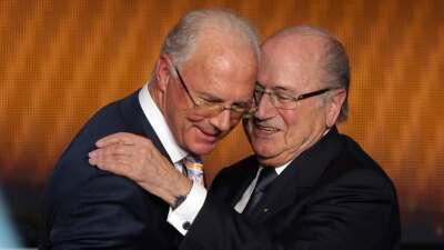 Blatter asegura que nunca pidió dinero a Beckenbauer para el Mundial 2006