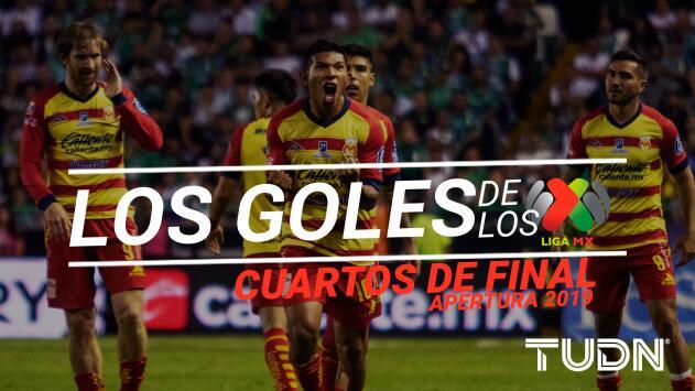 Revive los goles de los Cuartos de Final del Apertura 2019