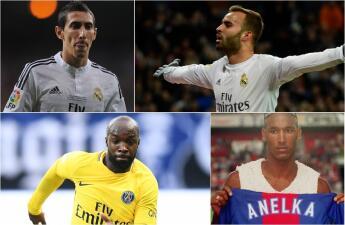 Di María encabeza la lista de jugadores que han defendido la playera del Madrid y del PSG
