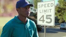 El boulevard Hawthorne donde se accidentó Tiger Woods registró 13 accidentes el año pasado