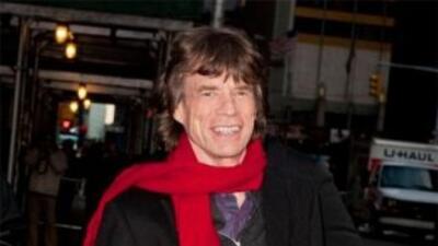 Mick Jagger pasará Navidad en familia y cocinando