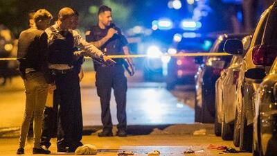Cinco personas muertas y 26 heridos en otro fin de semana violento en Chicago