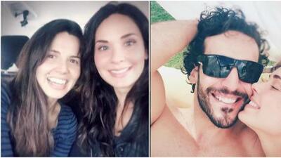Con el amor de su familia, Adriana Louvier va superando el luto por la muerte de su padre