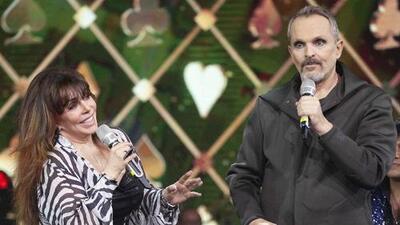 Miguel Bosé se adelanta a Verónica Castro y habla del estado de salud de la Jueza de Honor