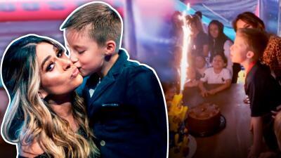 La gran sorpresa que Galilea Montijo le dio a su hijo Mateo en su fiesta de cumpleaños