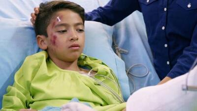 El rechazo llevó a un niño a sufrir un terrible accidente