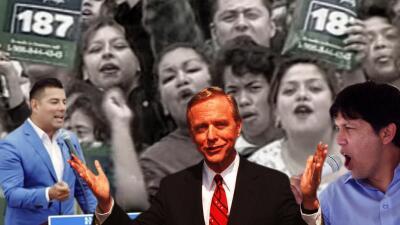 """Cómo """"el Trump de los 90"""" animó a una generación de latinos a tomar el poder en California"""