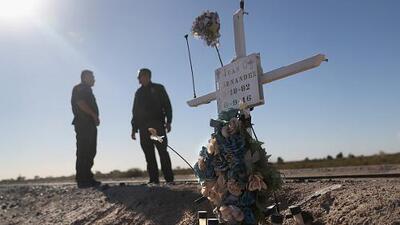 Identifican a cientos de personas muertas en la frontera