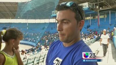 Cubanos sufren la muerte de José Fernández