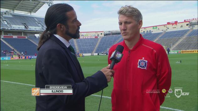 Schweinsteiger deja claro que el LAFC no lo tendrá fácil ante el Chicago Fire