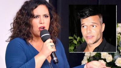 """Angélica Vale aclara si considera a Ricky Martin un amigo """"ingrato"""" tras el distanciamiento entre ellos"""