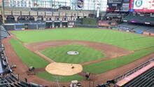 Todo listo para el primer juego de los Astros de Houston en el Minute Maid Park