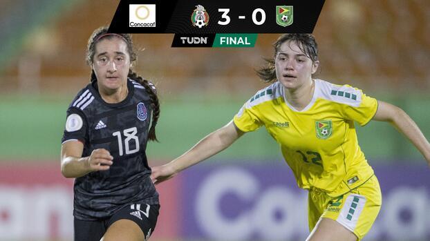 México golea a Guyana y va invicto a Octavos de Final