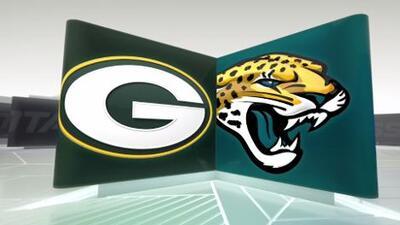 Aaron Rodgers y los Packers controlaron a los Jaguars