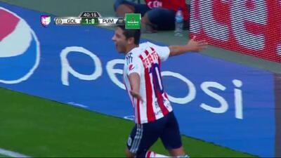 Fernando Ocampo narra el gol de Reyna del Chivas vs Pumas de la segunda fecha