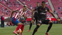 Uriel Antuna recibió abucheos de los aficionados de Chivas