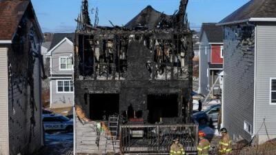 Siete niños de una familia de refugiados sirios murieron cuando se incendió su casa en Canadá