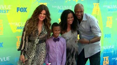 Amigos y familia mandan buenos deseos a Lamar Odom