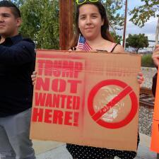 Protestas contra Donald Trump en Long Beach