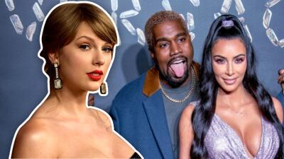 Taylor Swift ya puede reírse de los ataques que recibió de Kim Kardashian y Kanye West