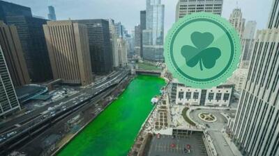 Chicago se tiñe de verde
