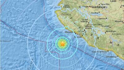Un terremoto de 6.2 de magnitud sacude la costa occidental de México