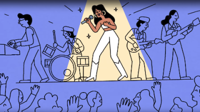 Google celebrates the life of Selena with a special doodle