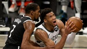 En partido trepidante, Bucks eliminan a Nets y avanzan en el Este