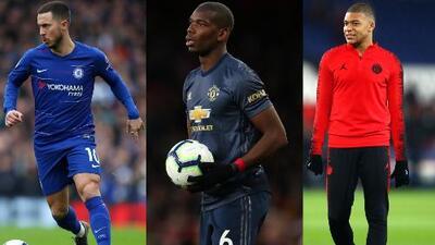 Hazard, Mbappé y Pogba encabezan la lista de fichajes que habría pedido Zidane para el Real Madrid