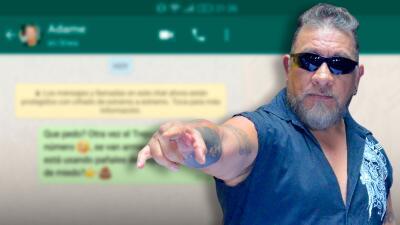 Carlos Trejo publica el teléfono de Alfredo Adame para que sus seguidores le escriban por WhatsApp