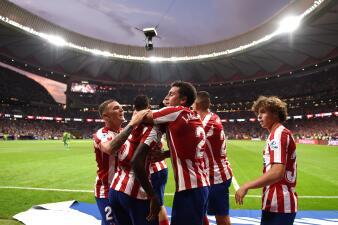 En fotos: Atlético de Madrid da la vuelta al marcador y gana tres goles a dos sobre Eibar