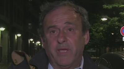 Tras casi 15 horas de interrogatorio, la policía francesa libera sin cargos a Michel Platini