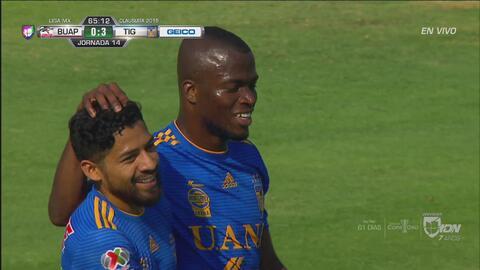 Enner Valencia pone el tercero de Tigres y liquida a Lobos