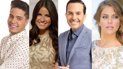 Maite Perroni, Carlos Calderón, Daniela Di Giacomo y William Valdes conducirán Noche de Estrellas