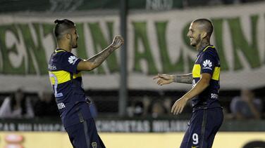 Boca Juniors venció 2-0 a Banfield y se mantiene de líder en Argentina