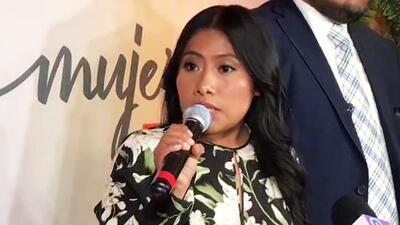 Yalitza Aparicio responde a la polémica por una foto donde le habrían retocado el color de su piel