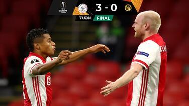 Ajax y Edson ponen pie y medio en Cuartos al golear al Young Boys