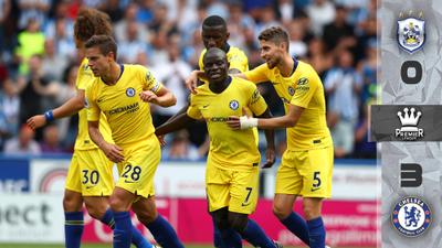 Con el debut del portero más caro del mundo, Chelsea goleó en la Premier