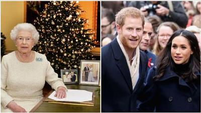 Megan Markle y el príncipe Harry serán la primera pareja no casada en pasar Navidad con la Reina Isabel II